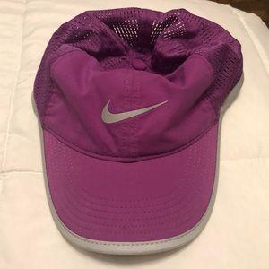 Fuchsia Nike dri fit hat
